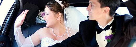 Limousine Wedding Packages from Sweetheart Limousine
