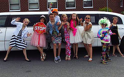 Kid's Birthday Limo Party